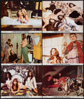 "Movie Posters:Sexploitation, Beyond the Valley of the Dolls (20th Century Fox, 1970). LobbyCards (6) (11"" X 14""). Sexploitation.. ... (Total: 6 Items)"