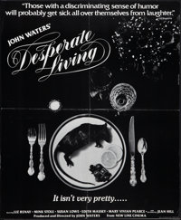 "Desperate Living (Saliva Films, 1977). Special Poster (17"" X 20.75""). Comedy"