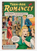 Golden Age (1938-1955):Romance, Teen-Age Romances #3 (St. John, 1949) Condition: VG+....