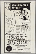"Movie Posters:Sexploitation, The Adventures of Lucky Pierre (Lucky Pierre Enterprises, 1961).One Sheet (27"" X 41""). Sexploitation.. ... (Total: 2 Items)"