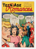 Golden Age (1938-1955):Romance, Teen-Age Romances #1 (St. John, 1949) Condition: VG+....