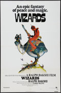 "Movie Posters:Animated, Wizards (20th Century Fox, 1977). One Sheet (27"" X 41""). Style A. Animated.. ..."