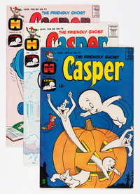 Friendly Ghost Casper #101-195 File Copy Short Box Group (Harvey, 1967-77) Condition: Average NM-