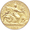 Commemorative Gold, 1915-S $2 1/2 Panama-Pacific Quarter Eagle MS62 PCGS....
