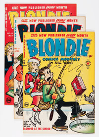 Blondie Comics File Copy Short Box Group (Harvey, 1950-65) Condition: Average VF