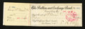 Obsoletes By State:Nevada, Carson City, NV- Bullion and Exchange Bank $15 Check Sep. 17, 1888. ...