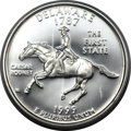 Proof Statehood Quarters, 1999-S 25C Delaware Silver PR70 Deep Cameo PCGS....