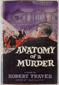 Books:Mystery & Detective Fiction, Robert Traver. Anatomy of a Murder. New York: St. Martin's,[1958]. First edition. Octavo. 437 pages. Publisher's bi...