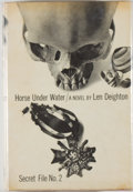 Books:Mystery & Detective Fiction, Len Deighton. Horse Under Water. London: Cape, [1963]. Firstedition, second impression. Octavo. 255 pages. Publishe...