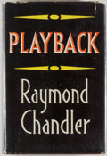 Books:Mystery & Detective Fiction, Raymond Chandler. Playback. London: Hamish Hamilton, [1958].True first edition of the final Philip Marlowe no...