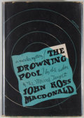 Books:Mystery & Detective Fiction, John Ross Macdonald. The Drowning Pool. New York: Knopf,1950. First edition. Octavo. 244 pages. Publisher's binding...