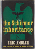 Books:Mystery & Detective Fiction, Eric Ambler. The Schirmer Inheritance. New York: Knopf,1953. First American edition. Octavo. 246 pages. Publish...