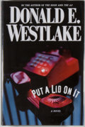 Books:Mystery & Detective Fiction, Donald E. Westlake. INSCRIBED. Put a Lid on It. [New York]:Mysterious Press, [2002]. First edition. Inscribed by ...