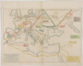 Books:Maps & Atlases, [Le Sage]. Copper Engraved Map of the Ancient World with Hand-Coloring. [Florence: 1807]. Measures 12.25 x 15.5 inch...