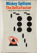 Books:Mystery & Detective Fiction, Mickey Spillane. The Delta Factor. New York: Dutton, 1967.First edition. Octavo. 219 pages. Publisher's binding...