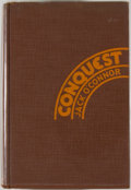 Books:Fiction, Frank O'Connor. Conquest. A Novel of the OldSouthwest. New York: Harper & Brothers, 1930. Firstedition. Octavo...