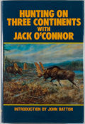 Books:Sporting Books, Jack O'Connor. SIGNED/LIMITED. Hunting on Three Continents.Long Beach: Safari Press, 1987. First edition, limited t...