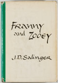 Books:Literature 1900-up, J. D. Salinger. Franny and Zooey. Boston: Little, Brown,[1961]. First edition, first printing. Octavo. 201 pages. P...