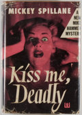Books:Mystery & Detective Fiction, Mickey Spillane. Kiss Me, Deadly. New York: Dutton, 1952.First edition, first printing. Octavo. 251 pages. Publishe...