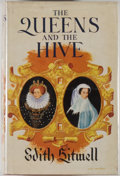 Books:Biography & Memoir, Edith Sitwell. INSCRIBED. The Queens and the Hive. London:Macmillan, 1962. Reprint. Inscribed by the author on th...