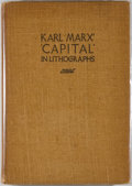 Books:Art & Architecture, [Hugo Gellert, artist]. Karl Marx' 'Capital' in Lithographs. New York: Ray Long & Richard R. Smith, [1934]. Firs...