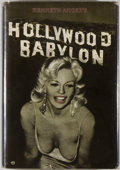 Books:Americana & American History, [Cinema]. Kenneth Anger. Hollywood Babylon. [San Francisco:Straight Arrow, 1975]. First edition. Quarto. 292 pages....