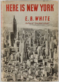 Books:Americana & American History, E. B. White. Here Is New York. New York: Harper, [1949].First edition. Twelvemo. 54 pages. Publisher's binding,...