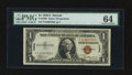 Small Size:World War II Emergency Notes, Fr. 2300 $1 1935A Hawaii Silver Certificate. PMG Choice Uncirculated 64.. ...