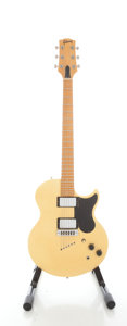 Musical Instruments:Electric Guitars, Circa 1975 Gibson L6-S Refinished Solid Body Electric Guitar,Serial #964459....