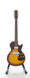 Musical Instruments:Electric Guitars, 1960 Gibson Melody Maker Sunburst Solid Body Electric Guitar,Serial #010221....