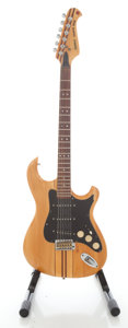 Musical Instruments:Electric Guitars, Circa Late 1970's Sorina Telegaster Deluxe Natural Solid BodyElectric Guitar....