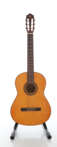 Musical Instruments:Acoustic Guitars, Circa: 1970's Yamaha G-85A Natural Classical Guitar, Serial#10908334....