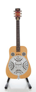 Musical Instruments:Resonator Guitars, 1976 Dobro Roundneck Natural Resonator Guitar, Serial #X 130 6....