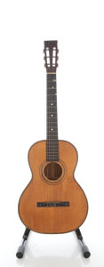 Musical Instruments:Acoustic Guitars, 1900's Regal Style Parlor Project Natural Acoustic Guitar....