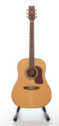 Musical Instruments:Acoustic Guitars, Washburn D-27s Natural Acoustic Guitar, Serial #162547....