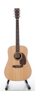 Musical Instruments:Acoustic Guitars, 2001 Martin D-16RGT Natural Acoustic Guitar, Serial #791936....