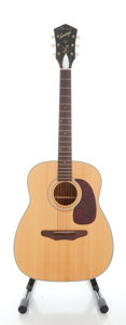 Musical Instruments:Acoustic Guitars, 1960's Harmony Sovereign Natural Acoustic Guitar....
