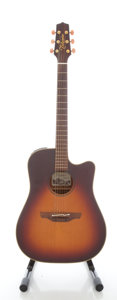 Musical Instruments:Acoustic Guitars, Circa: 2006 Takamine EAN10C Sunburst Acoustic Electric Guitar,Serial #06120993....