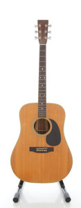 Musical Instruments:Acoustic Guitars, Circa 1980's Sigma by Martin DR-35N Natural Acoustic Guitar, Serial #900319....