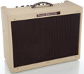 Musical Instruments:Amplifiers, PA, & Effects, Fender Blues Deluxe White Guitar Amplifier, Serial #T-071106....