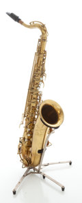 Musical Instruments:Horns & Wind Instruments, Circa late 1940's Indiana by The Martin Brass Tenor Saxophone, Serial #34941....
