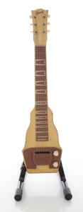 Musical Instruments:Lap Steel Guitars, Early 1950's Gibson BR-9 Lap Steel Guitar....