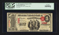 National Bank Notes:Maine, Portland, ME - $1 Original Fr. 380 The Merchants NB Ch. # 1023. ...