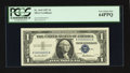 Small Size:Silver Certificates, Fr. 1619 $1 1957 Silver Certificate. PCGS Very Choice New 64PPQ.. ...