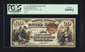 National Bank Notes:Maine, Richmond, ME - $20 1882 Brown Back Fr. 494 The First NB Ch. # 662. ...