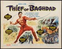 "Thief of Baghdad (MGM, 1961). Half Sheet (22"" X 28""). Fantasy"