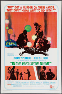 """In the Heat of the Night (United Artists, 1967). One Sheet (27"""" X 41""""). Academy Award Winners"""