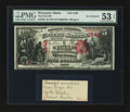 National Bank Notes:Maine, Wiscasset, ME - $5 1875 Fr. 402 The First NB Ch. # 1549. ...