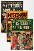 Golden Age (1938-1955):Horror, Mysterious Adventures #5, 7, and 18 Group (Story Comics, 1951-54)Condition: Average FR/GD.... (Total: 3 Comic Books)