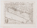 Books:Maps & Atlases, [Girolamo Ruscelli]. Group of Four Wonderful Copper Engraved Maps. [Venice: 1561]. Each measures approximately 9 x 11.5 inch...